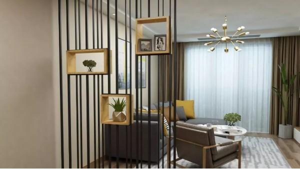 客厅的隔断墙有什么造型设计与方式呢?