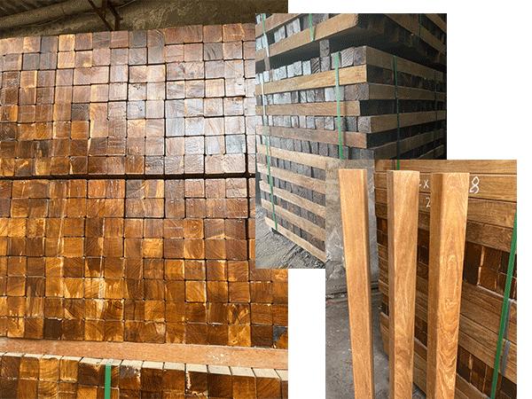 缅甸柚木楼梯籽料