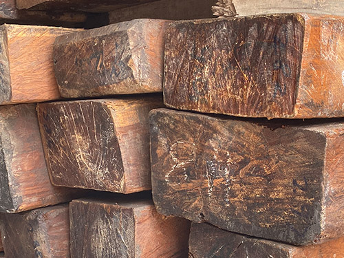 缅甸柚木木方