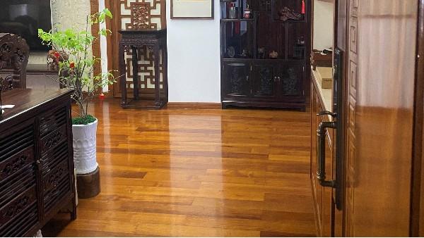 德福林柚木地板用户案例