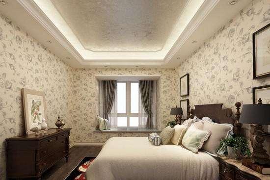卧室墙纸的搭配与组合
