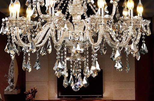 水晶吊灯不亮维修方法